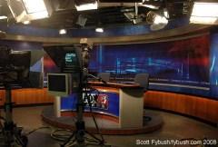 WXXA's studio, 2008