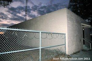 WBOB's transmitter building