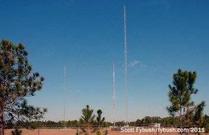 WNDB's towers