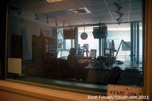 The WCFB 94.5 studio