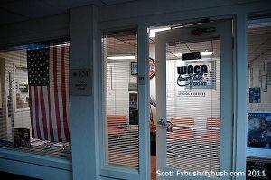WOCA's front door
