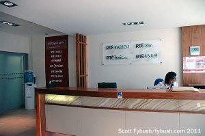 The Radio Centre lobby