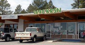 KRSN 1490's studio building