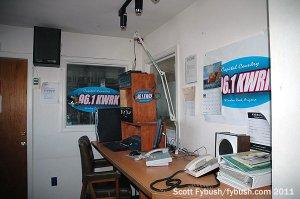 KWRK's studio