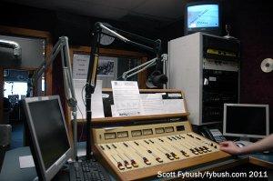 WCQL's studio