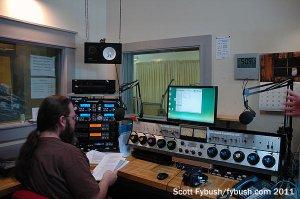 WFHB's air studio