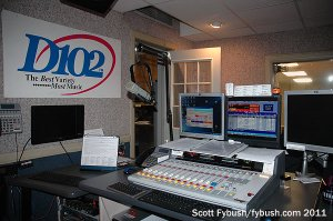 WDNL's studio