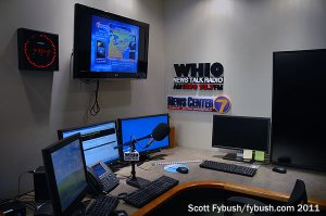 WHIO's traffic center