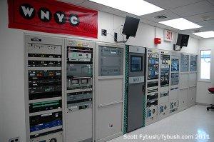 The WNYC/WQXR transmitter room