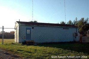 WNYY's transmitter building