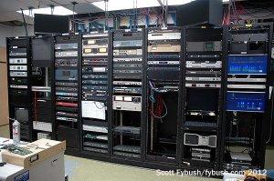 KFMB radio rack room