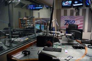 KFMB's talk studio