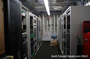 KPWR's rack room