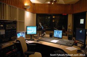 WBST's main studio