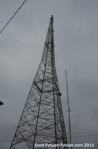 The old WLBC-TV tower