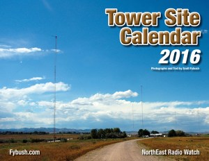 2016 TOWER SITE CALENDAR SIGNED AND NUMBERED