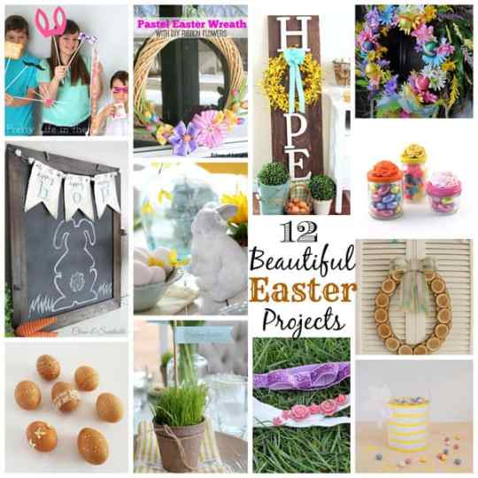 12 Beautiful Easter Projects #mayartsribbon #easter #diy