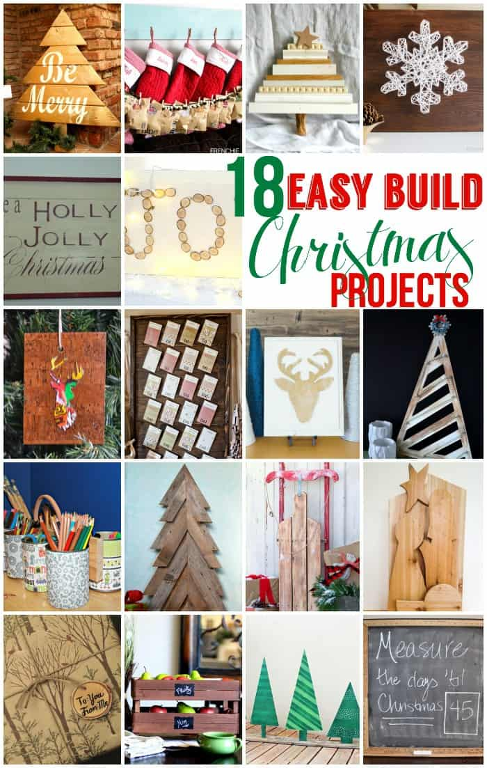 Easy To Build Christmas Projects Gifts and Decor ideas!