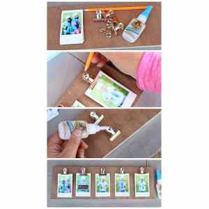 Dainty How To Make A Diy Photo Clip Frame Instax Clip Photo Frame Diy Fynes Designs Fynes Designs How To Make A Frame Class How To Make A Framegrabber