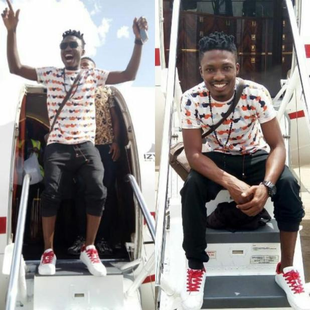 Efe-disembark-from-private-jet