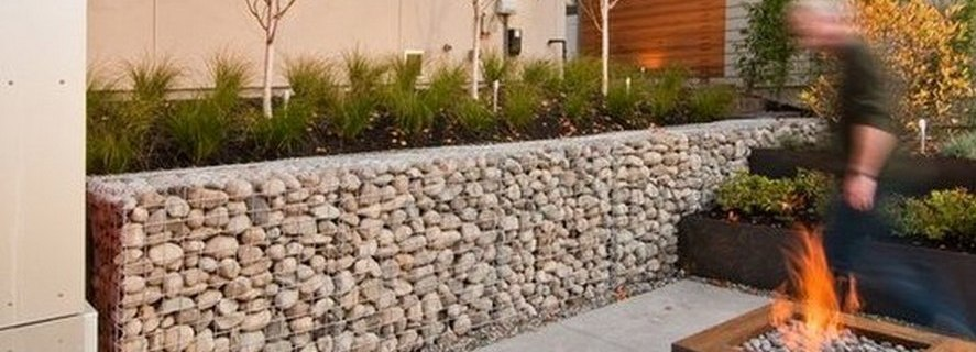 Gabion Retaining Walls Stone Wall Ideas Gabion1 Usa