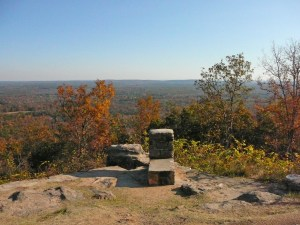 View from Dowdell Knob, Pine Mountain