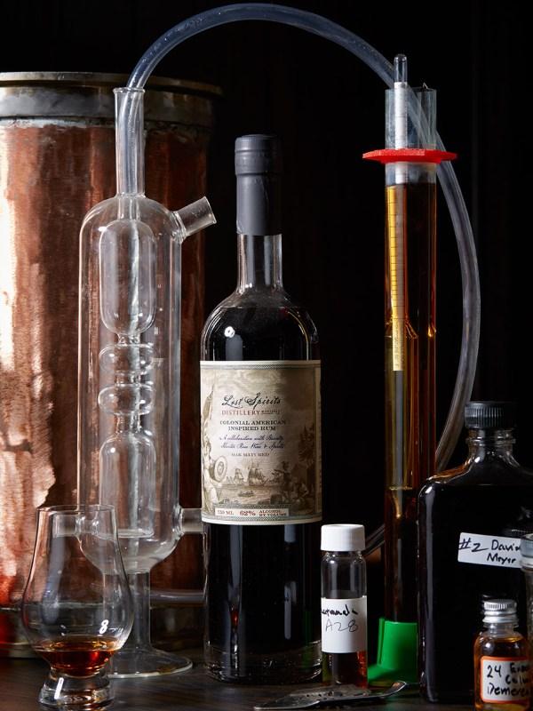 Lost Spirits Distillery in Monterey, California for WIRED.