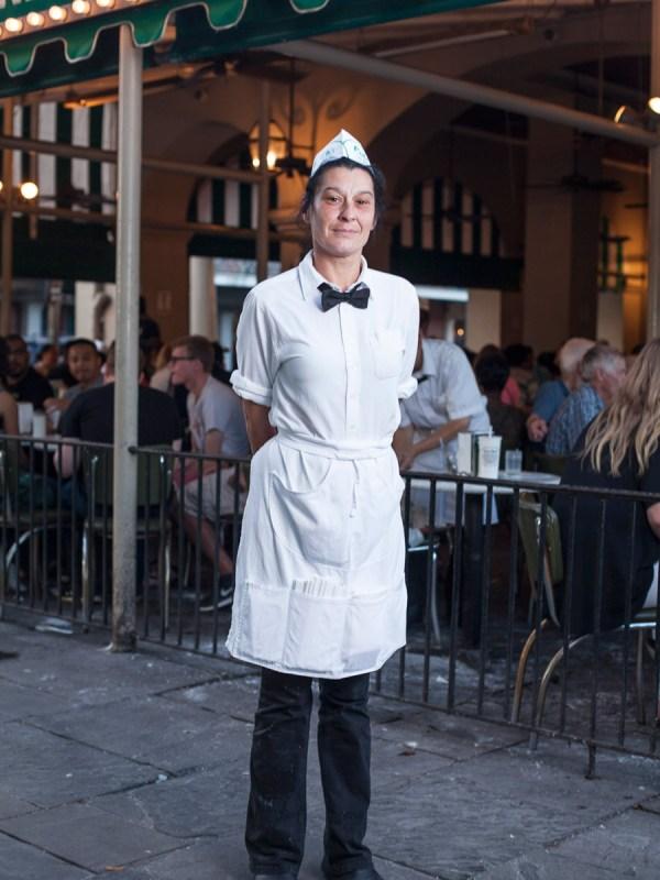 Donna, Cafe Du Monde. New Orleans 2016