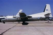 Una clásica postal que ilustra una de las primeras jornadas de puertas abiertas realizadas en la I Brigada Aérea de El Palomar en noviembre de 1994 (foto: Carlos Ay).