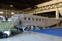 La Junkers Ju-52 del Museo Nacional de Aeronáutica (foto: Emmanuel Tula).