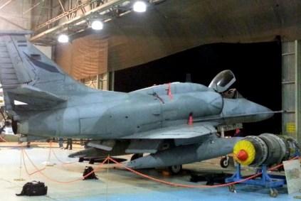 A-4AR Fighting Hawk de la V Brigada Aérea (foto: Mauricio Chiófalo).