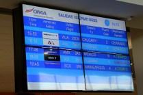 Salidas/departures