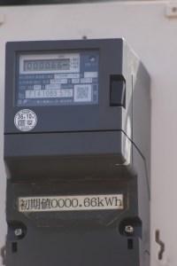 3.5GHz実験局 電力メーター