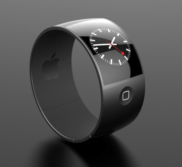 concept artistic Apple iWatch Concept design ceas Apple iWatch inspirat de designul telefonului iPhone 5