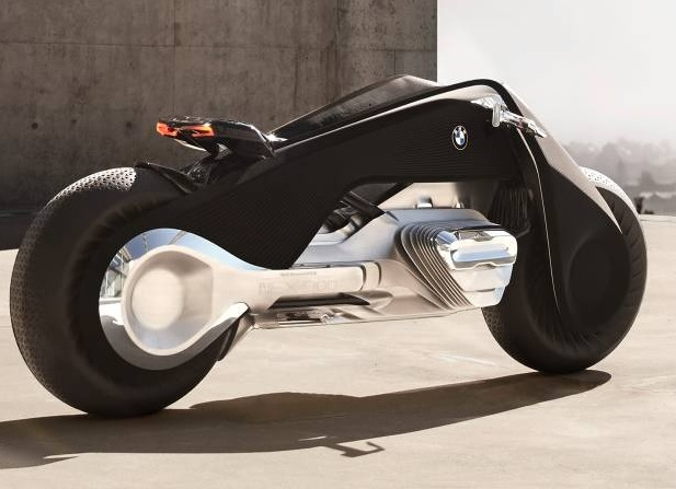 The Self-Balancing BMW Motorrad VISION NEXT 100