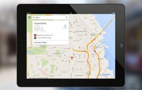 Google Maps 2.0 for iPad (2)