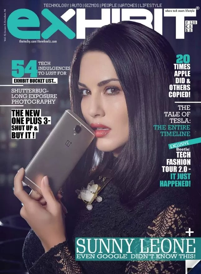 Sunny Leone & OnePlus 3 together takes the Hotness to another level
