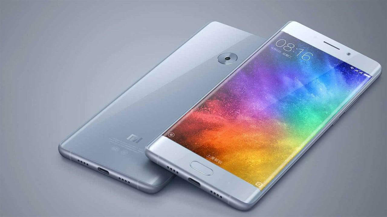 Xiaomi MI Note 2 glacier silver