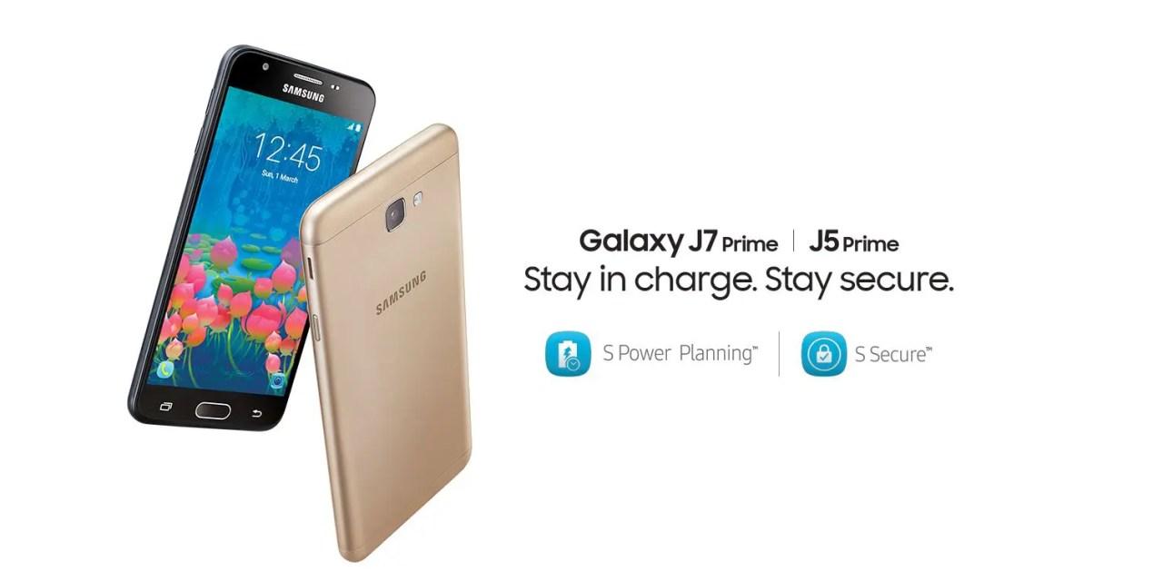 Image result for Samsung Galaxy J5 Prime, Galaxy J7 Prime