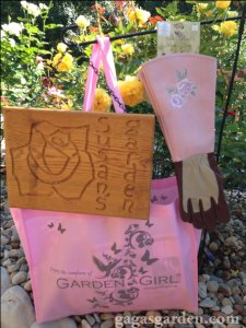 Garden Girl Rose Gloves