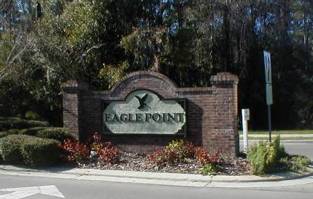 Eagle Point Neighborhood in Gainesville FL