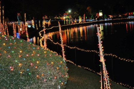 Annual Pond Lighting at North Florida Regional Hospital