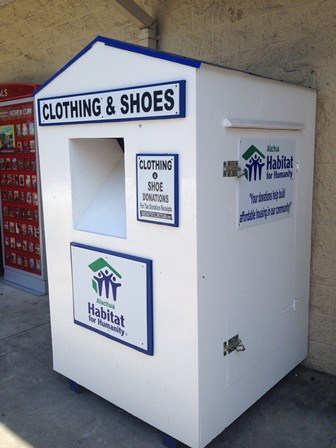 Clothes & Shoes Donation Boxes in Gainesville FL