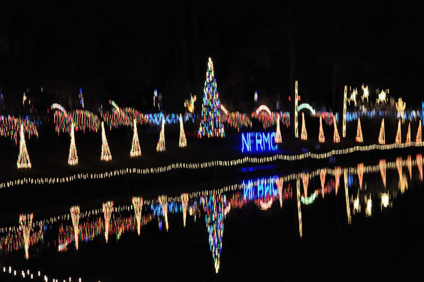 25th Annual Pond Lighting at North Florida Regional