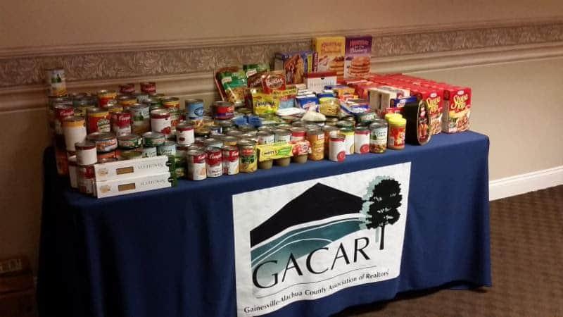 2015 GACAR Food Drive