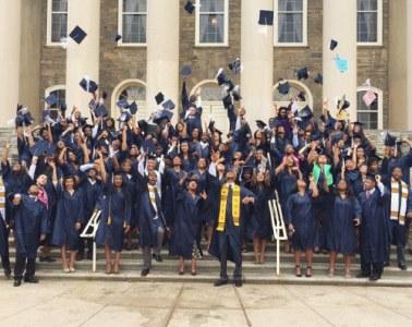 black grad