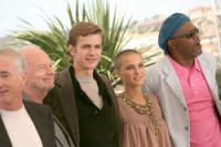 Natalie, Hayden, Anthony, Ian McDiarmid, Sam Jacson at Cannes