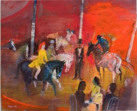 Walter Rehn // Hippodrome 1994, Wasserfarben
