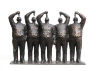 Hollandse nieuwe - brons - 32 cm hoog