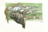 uilensonnet, enjambement, 2001